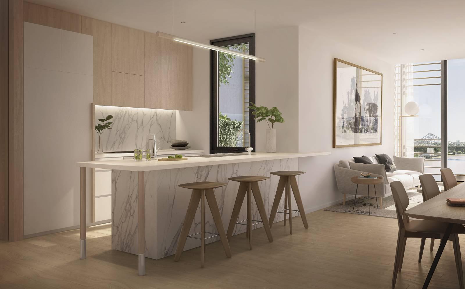 CBUS9038_443 Queen St_IN01A_Apartment Kitchen_Light Scheme