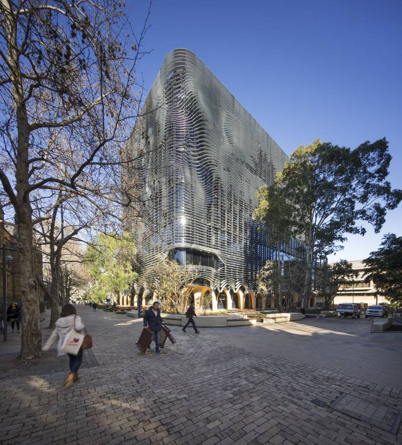 Arts West University of Melbourne   Architectus