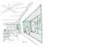 New school design - the window / nook sketch