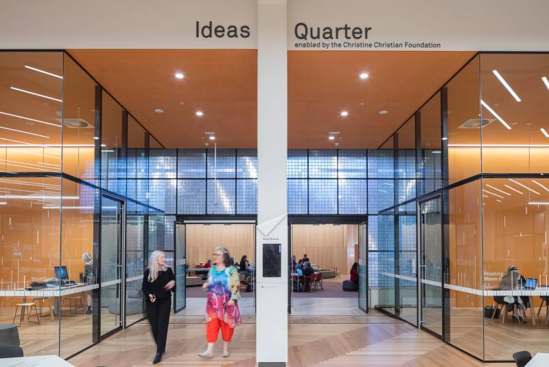 State Library Victoria - StartSpace Ideas Quarter